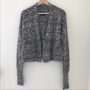 Abercrombie & Fitch Marbled Open Front Cardigan